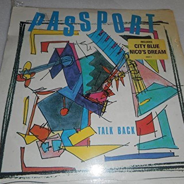 Passport TALK BACK Vinyl Record