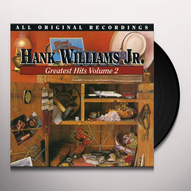 Hank Williams, Jr. GREATEST HITS (EARLY) 2 Vinyl Record
