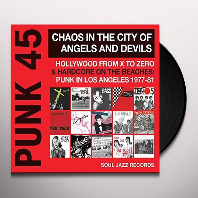 Soul Jazz Records Presents PUNK 45: CHAOS IN THE CITY OF ANGELS & DEVILS Vinyl Record