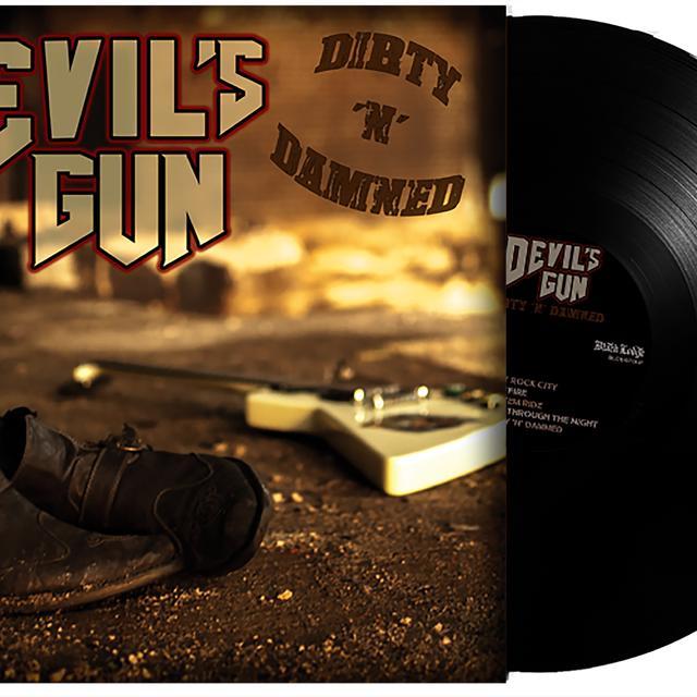 DEVILS GUN DIRTY N DAMNED Vinyl Record