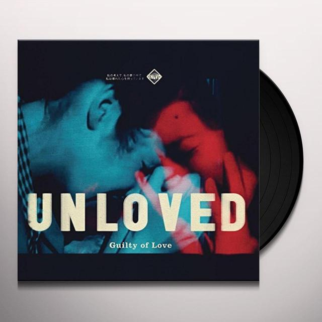 UNLOVED GUILTY OF LOVE Vinyl Record - Poster, Digital Download Included