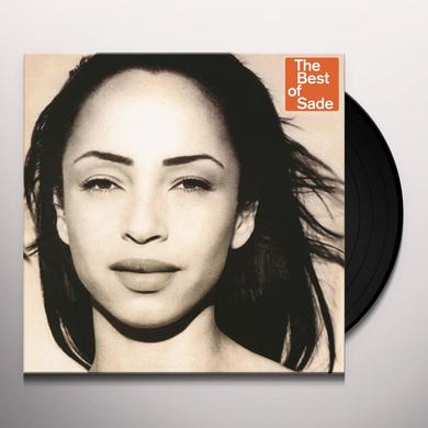 BEST OF SADE Vinyl Record - 180 Gram Pressing