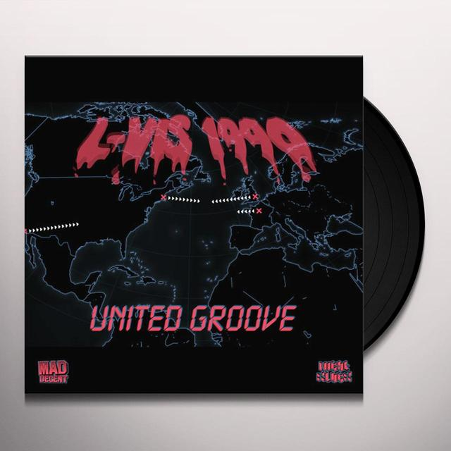 L-Vis 1990 UNITED GROOVE Vinyl Record