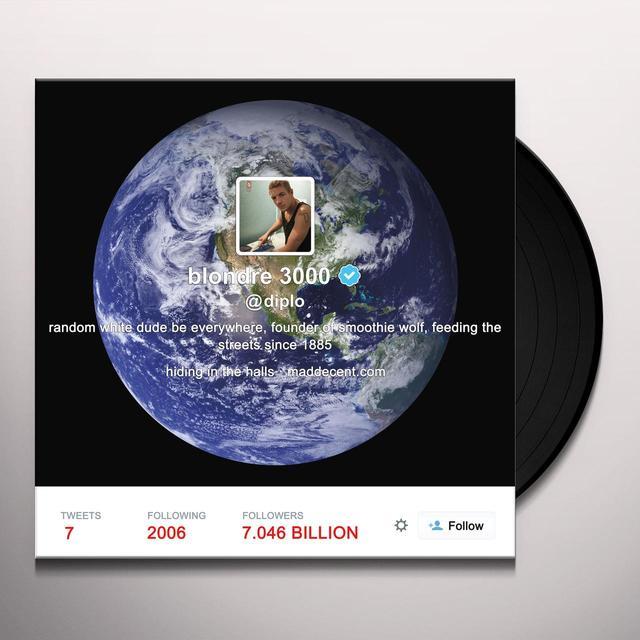 Diplo RANDOM WHITE DUDE BE EVERYWHERE Vinyl Record - Picture Disc