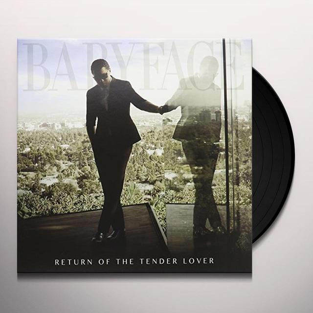 Babyface RETURN OF THE TENDER LOVER Vinyl Record