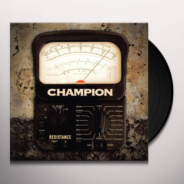 Champion RESISTANCE Vinyl Record - Canada Import