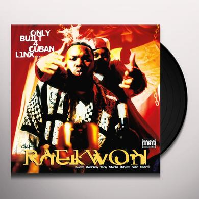 Raekwon ONLY BUILT 4 CUBAN LINX Vinyl Record