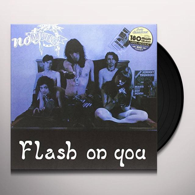 Not Moving FLASH ON YOU Vinyl Record - Italy Import