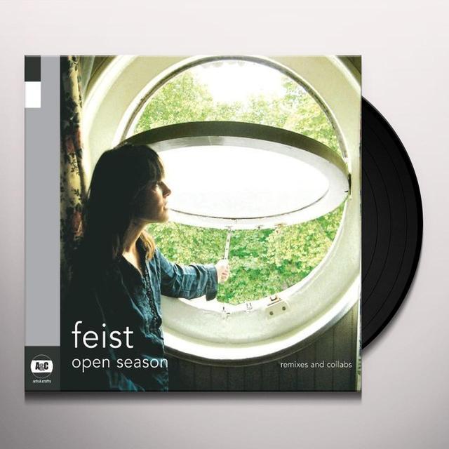 Feist OPEN SEASON Vinyl Record - Canada Import