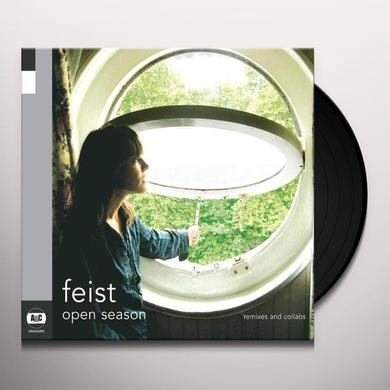 Feist OPEN SEASON Vinyl Record - Canada Import