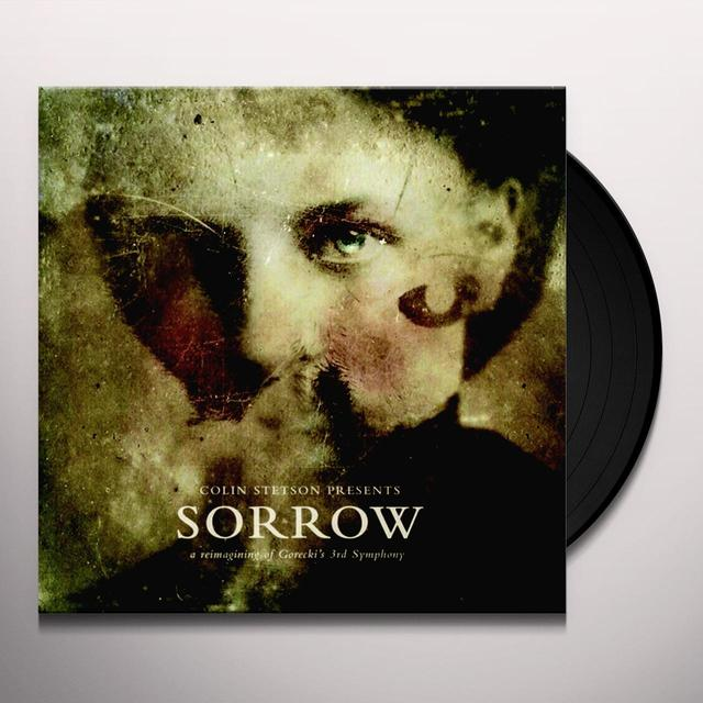 Colin Stetson SORROW - REIMAGINING OF GORECKI'S 3RD SYMPHONY Vinyl Record