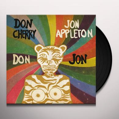 Don Cherry & Jon Appleton DON / JON Vinyl Record