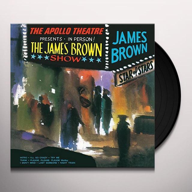 James Brown LIVE AT THE APOLLO Vinyl Record