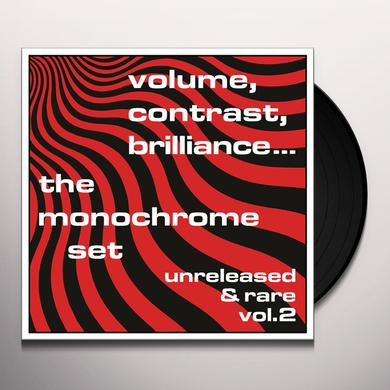 The Monochrome Set VOLUME CONTRAST BRILLIANCE UNRELEASED & RARE 2 Vinyl Record