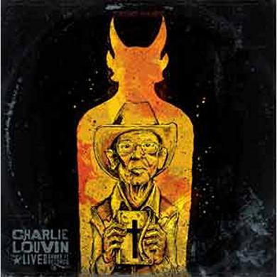 Charlie Louvin LIVE AT SHAKE IT RECORDS Vinyl Record