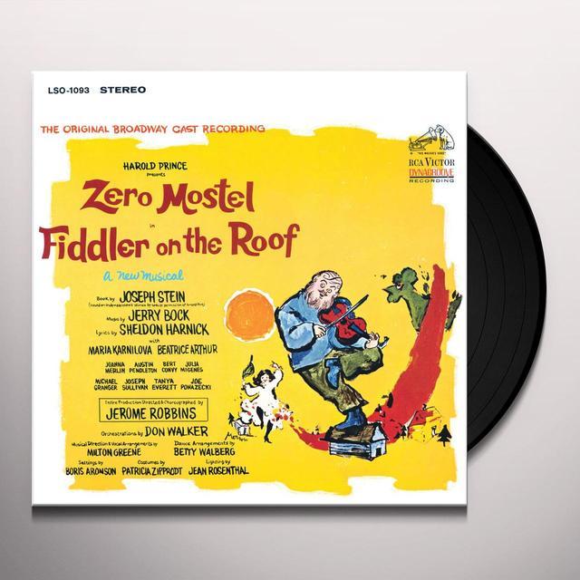 FIDDLER ON THE ROOF / O.B.C. Vinyl Record - 180 Gram Pressing