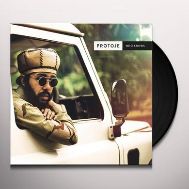 Protoje WHO KNOWS Vinyl Record