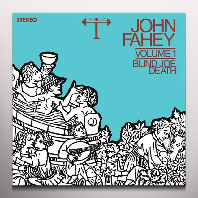 John Fahey BLIND JOE DEATH 1 Vinyl Record - Clear Vinyl