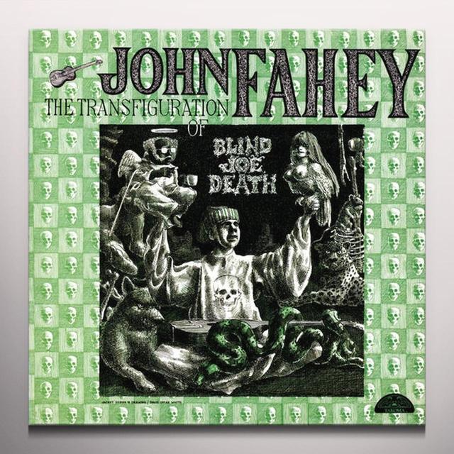 John Fahey TRANSFIGURATION OF BLIND JOE DEATH Vinyl Record - Colored Vinyl, Purple Vinyl
