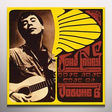 John Fahey DAYS HAVE GONE BY Vinyl Record - Gold Vinyl