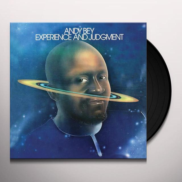Andy Bey EXPERIENCE & JUDGEMENT Vinyl Record