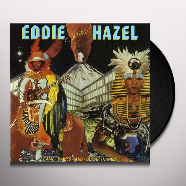 Eddie Hazel GAME DAMES & GUITAR THANGS Vinyl Record