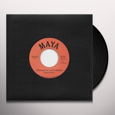 Maya SYNTHEZOID HEARTBREAK / DISTANT VISIONS Vinyl Record