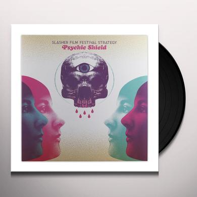 SLASHER FILM FESTIVAL STRATEGY (BLK) (LTD) (OGV) PSYCHIC SHIELD Vinyl Record - Black Vinyl, Limited Edition, 180 Gram Pressing