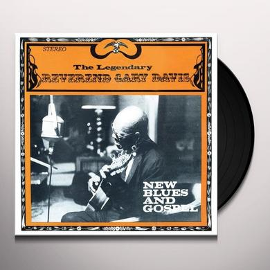 Gary Reverend Davis NEW BLUES AND GOSPEL Vinyl Record - Limited Edition