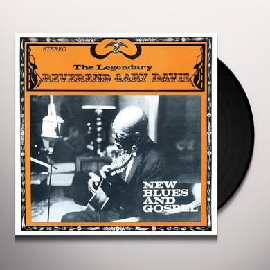 Gary Reverend Davis NEW BLUES AND GOSPEL Vinyl Record