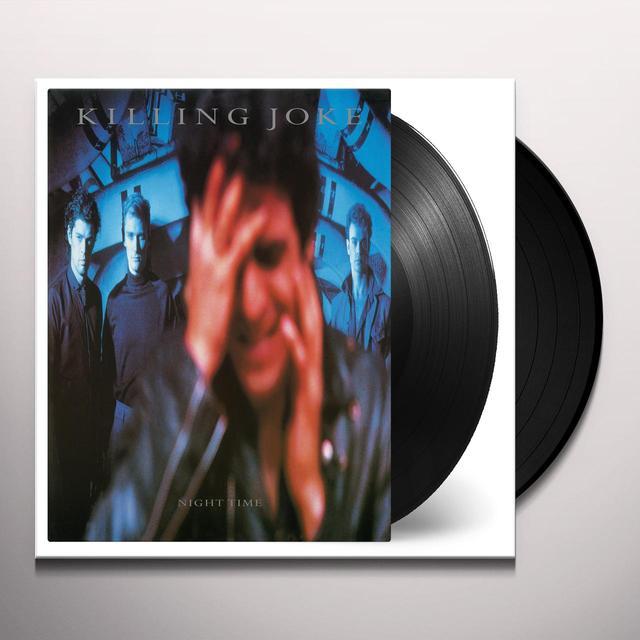 Killing Joke NIGHT TIME Vinyl Record - Holland Import