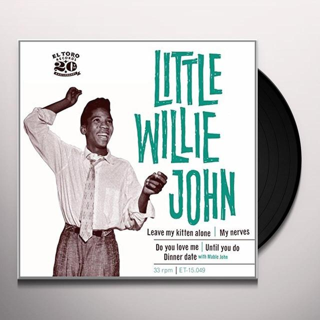 Little Willie John VOL. 2 Vinyl Record - Spain Import