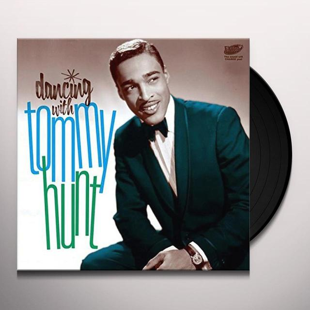 Tommy Hunt DANCING WITH Vinyl Record