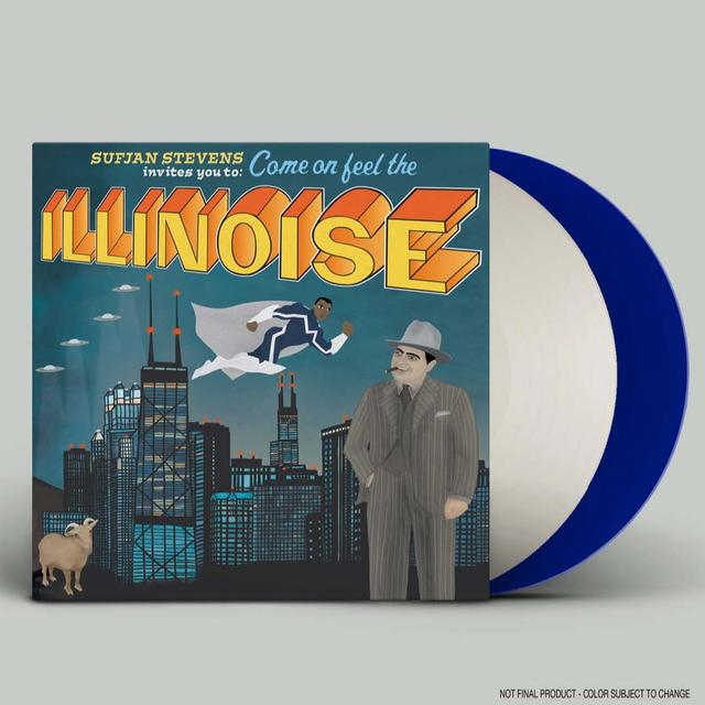 Sufjan Stevens ILLINOIS: SPECIAL 10TH ANNIVERSARY BLUE MARVEL Vinyl Record