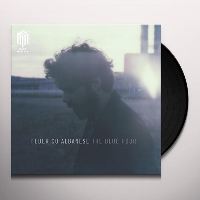 Federico Albanese BLUE HOUR (180-GRAM VINYL WITH GATEFOLD) Vinyl Record - 180 Gram Pressing