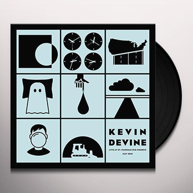 Kevin Devine LIVE AT ST PANCRAS OLD CHURCH Vinyl Record - UK Import
