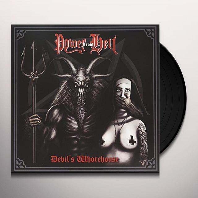 POWER FROM HELL DEVILS WHOREHOUSE Vinyl Record - UK Release