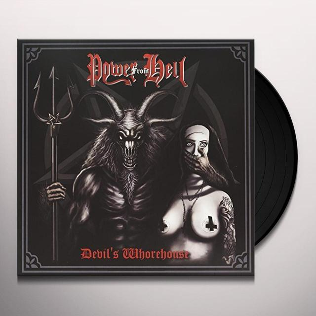 POWER FROM HELL DEVILS WHOREHOUSE Vinyl Record - UK Import