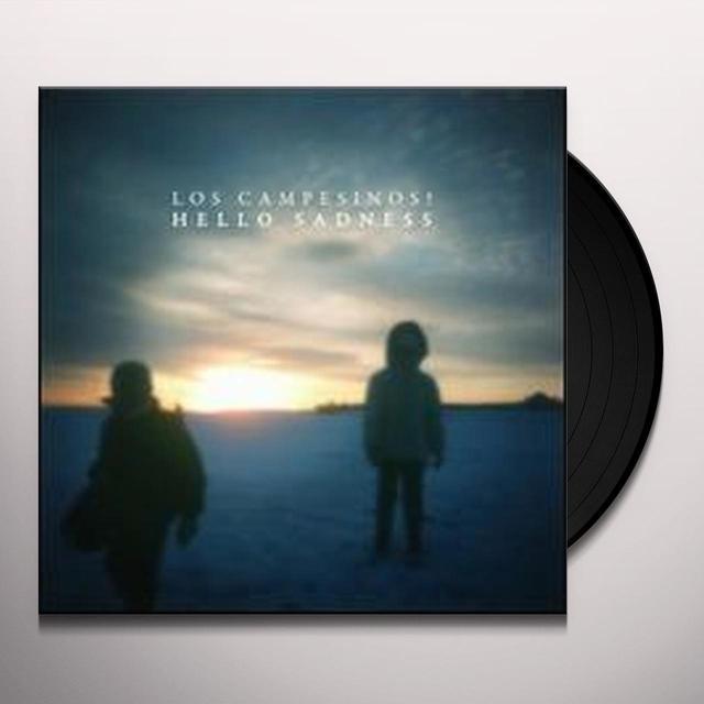 Los Campesinos HELLO SADNESS Vinyl Record - Canada Import