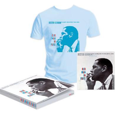 Dexter Gordon OUR MAN IN PARIS Vinyl Record