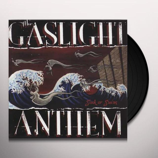 The Gaslight Anthem SINK OR SWIM Vinyl Record - Limited Edition