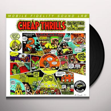 Big Brother & the Holding Company CHEAP THRILLS Vinyl Record - Limited Edition, 180 Gram Pressing