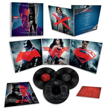 Hans Zimmer / Junkie Xl BATMAN V SUPERMAN: DAWN OF JUSTICE / O.S.T. Vinyl Record