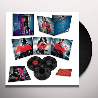 Hans Zimmer / Junkie Xl BATMAN V SUPERMAN: DAWN OF JUSTICE / O.S.T. Vinyl Record - Gatefold Sleeve