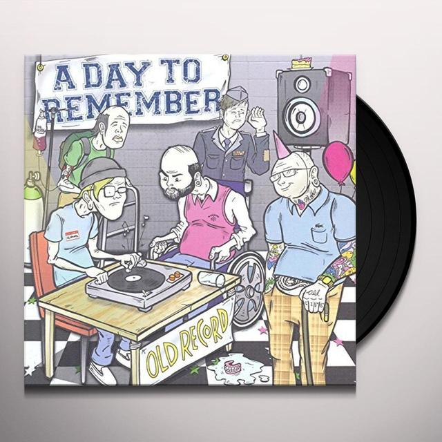 Day to Remember OLD RECORD Vinyl Record - Picture Disc