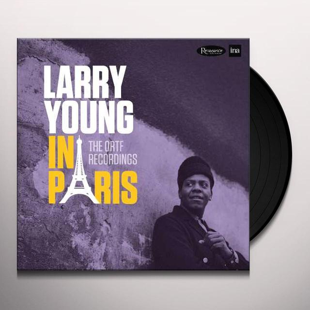 Larry Young IN PARIS: THE ORTF RECORDINGS Vinyl Record - Gatefold Sleeve, Limited Edition