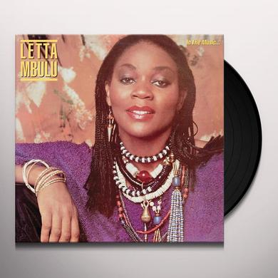 Letta Mbulu IN THE MUSIC...THE VILLAGE NEVER ENDS Vinyl Record