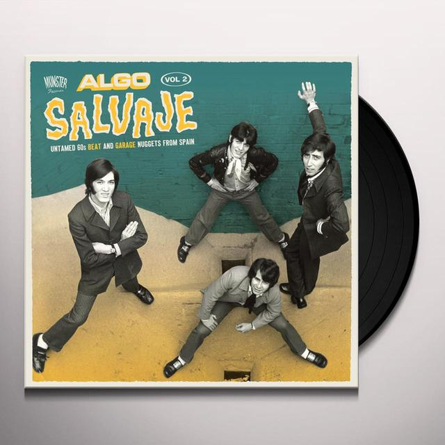 ALGO SALVAJE: UNTAMED 60S BEAT AND GARAGE 2 / VAR Vinyl Record