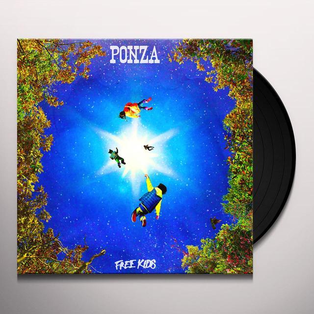 PONZA FREE KIDS Vinyl Record