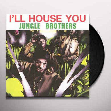 Jungle Brothers I'LL HOUSE YOU / ON THE RUN Vinyl Record